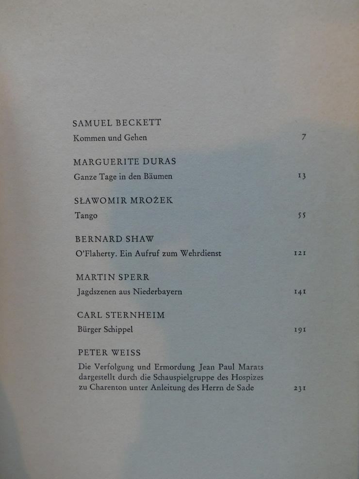 Bild 3: Spectaculum - Moderne Theaterstücke, Band 9