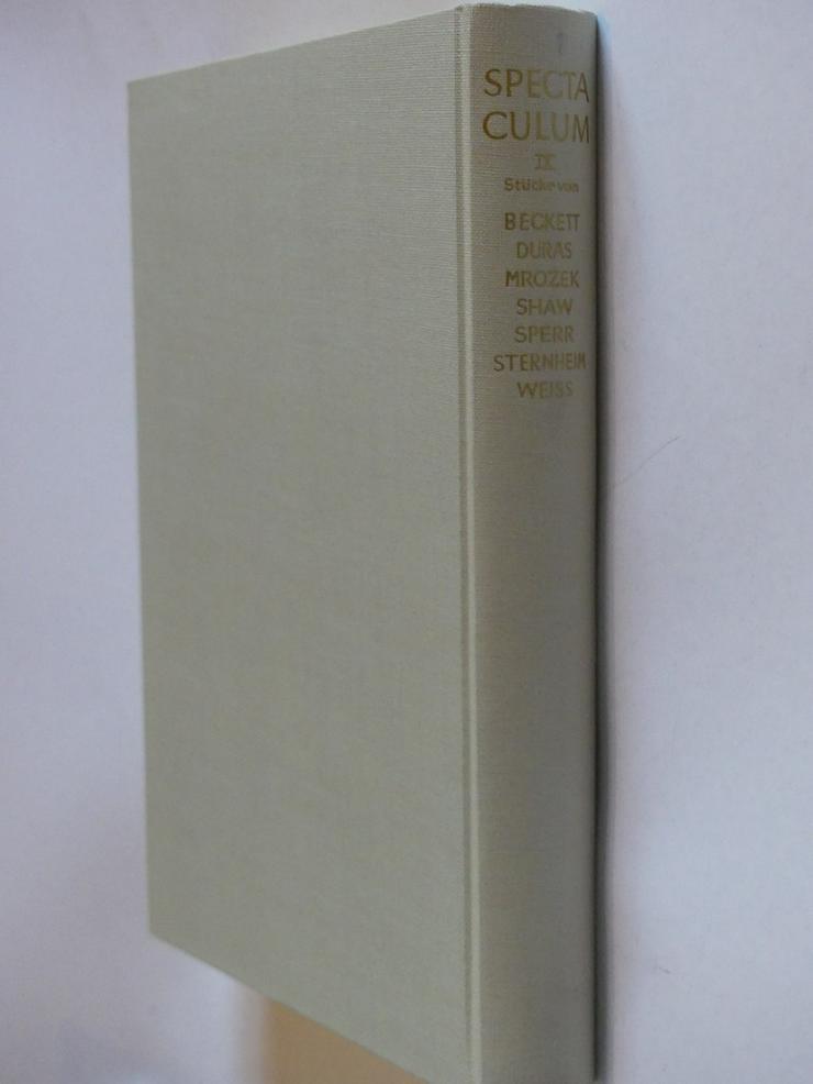 Spectaculum - Moderne Theaterstücke, Band 9 - Romane, Biografien, Sagen usw. - Bild 1