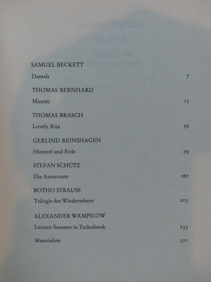 Bild 2: Spectaculum - Moderne Theaterstücke, Band 28