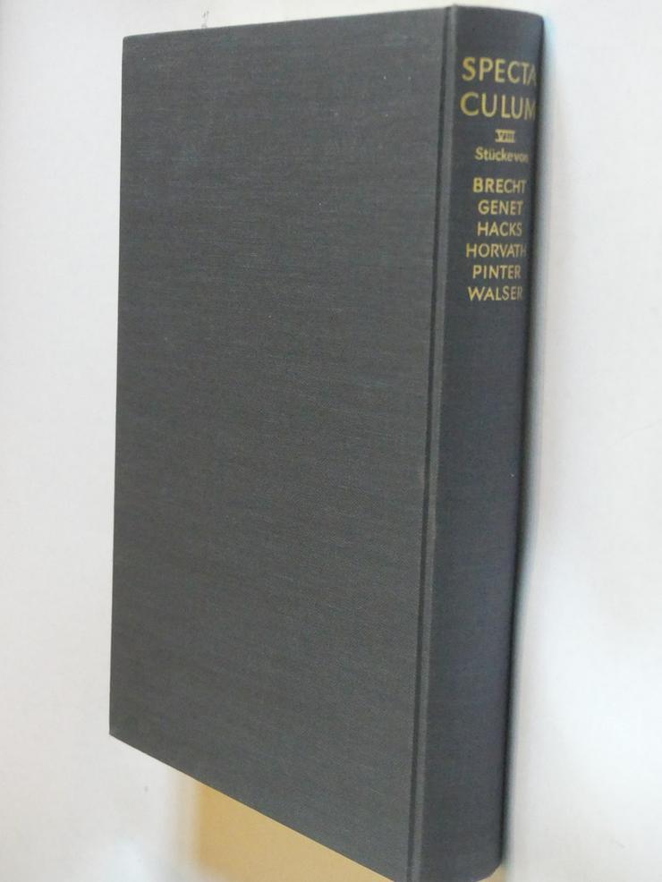 Spectaculum - Moderne Theaterstücke, Band 8 - Romane, Biografien, Sagen usw. - Bild 1