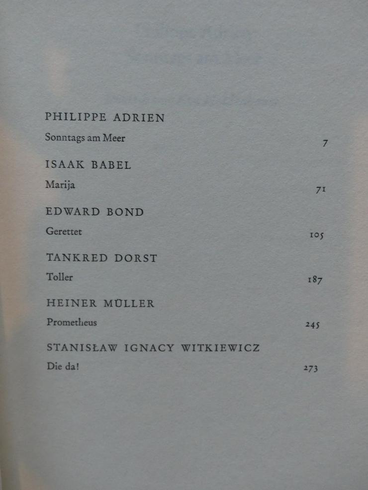 Bild 3: Spectaculum - Moderne Theaterstücke, Band 11