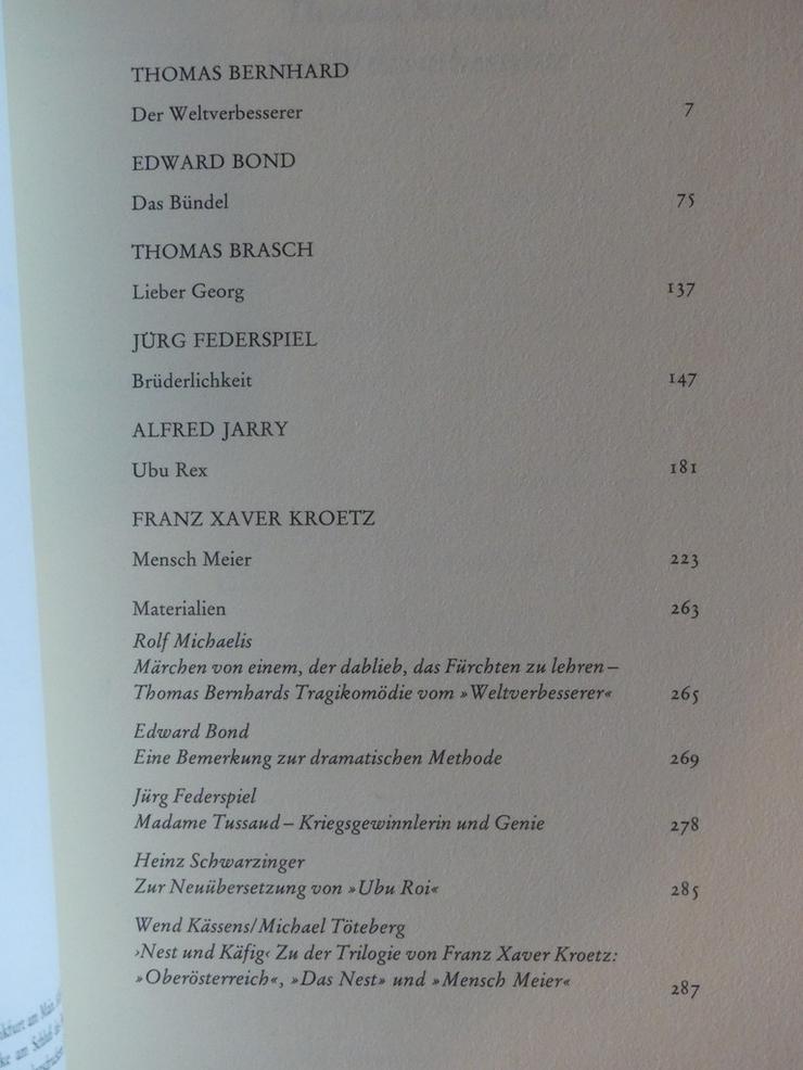 Bild 5: Spectaculum - Moderne Theaterstücke, Band 30