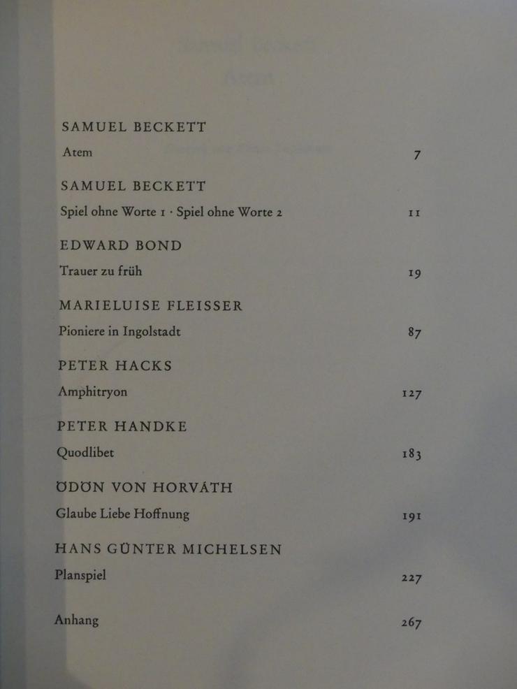 Bild 6: Spectaculum - Moderne Theaterstücke, Band 13