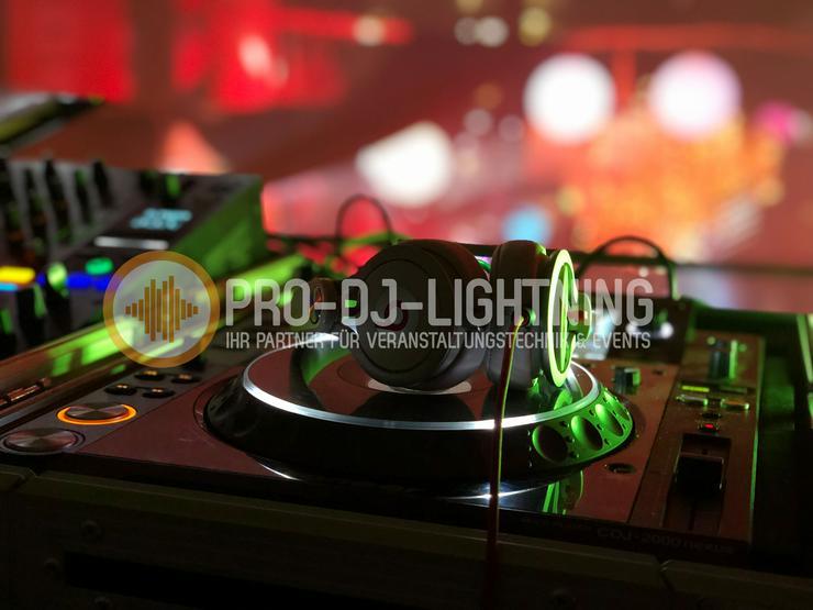 DJ Technik für Geburtstagsfeiern - Hochzeiten