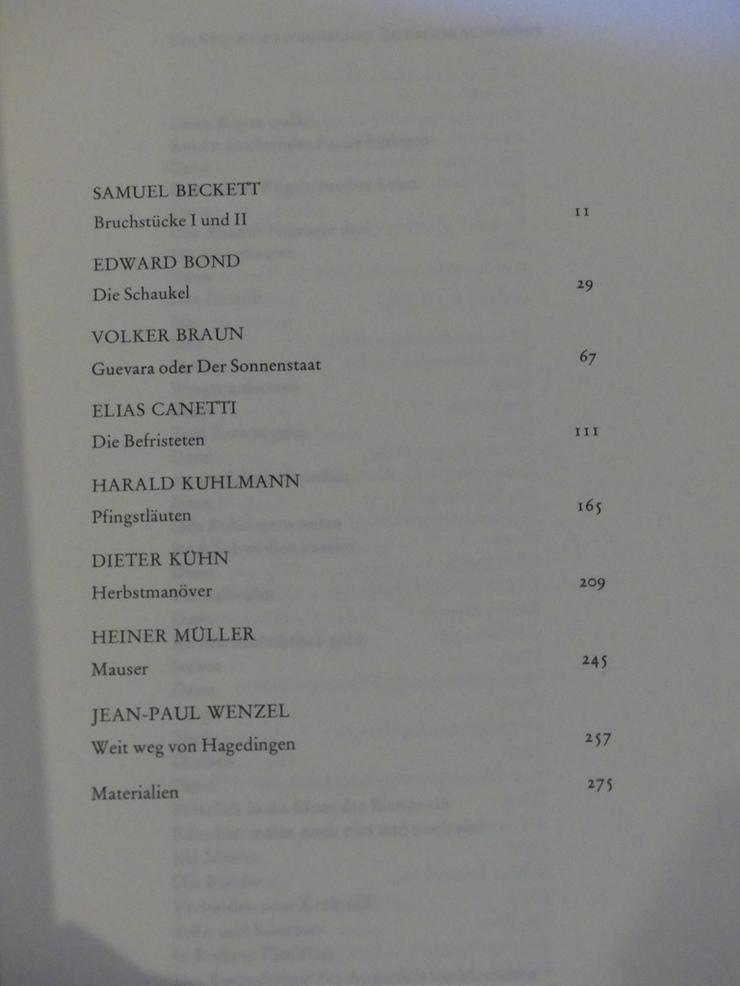 Bild 2: Spectaculum - Moderne Theaterstücke, Band 27
