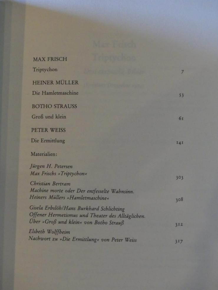 Bild 4: Spectaculum - Moderne Theaterstücke, Band 33