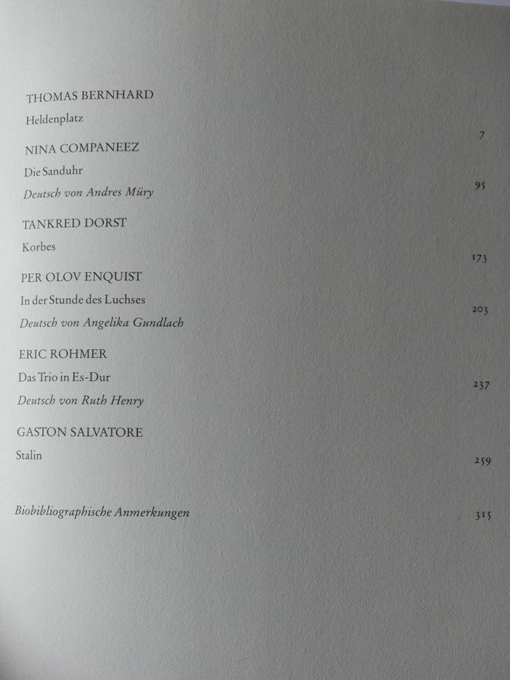 Bild 3: Spectaculum - Moderne Theaterstücke, Band 49