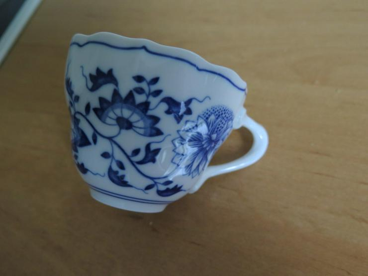 Bild 3: Hutschenreuth. Kaffeeservice Zwiebelmuster blau