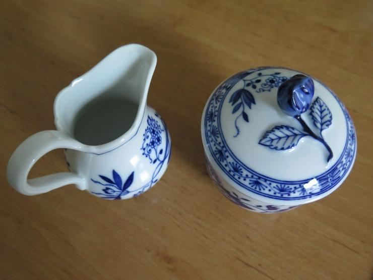 Bild 6: Hutschenreuth. Kaffeeservice Zwiebelmuster blau