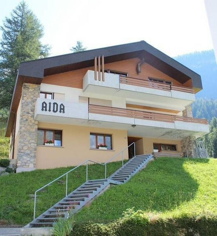 Bild 2: 7-Zimmerwohnung im Haus AIDA, Leukerbad