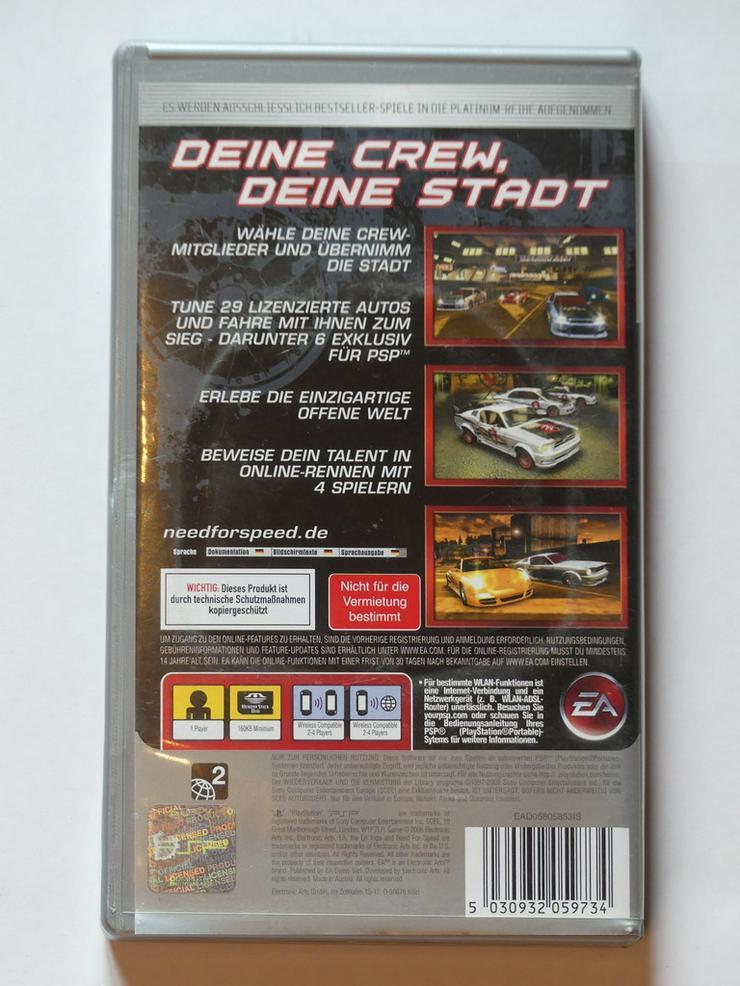 Bild 2: Need for Speed (PSP-Spiel)
