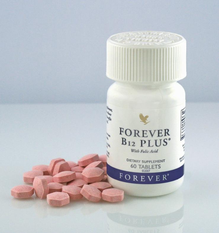 5für4 - FOREVER B12 Plus - Vitamin-B Power-Mix - Nahrungsergänzungsmittel - Bild 1