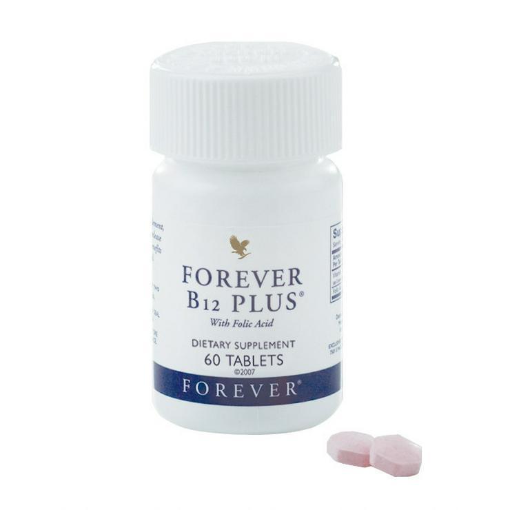 Bild 2: 5für4 - FOREVER B12 Plus - Vitamin-B Power-Mix