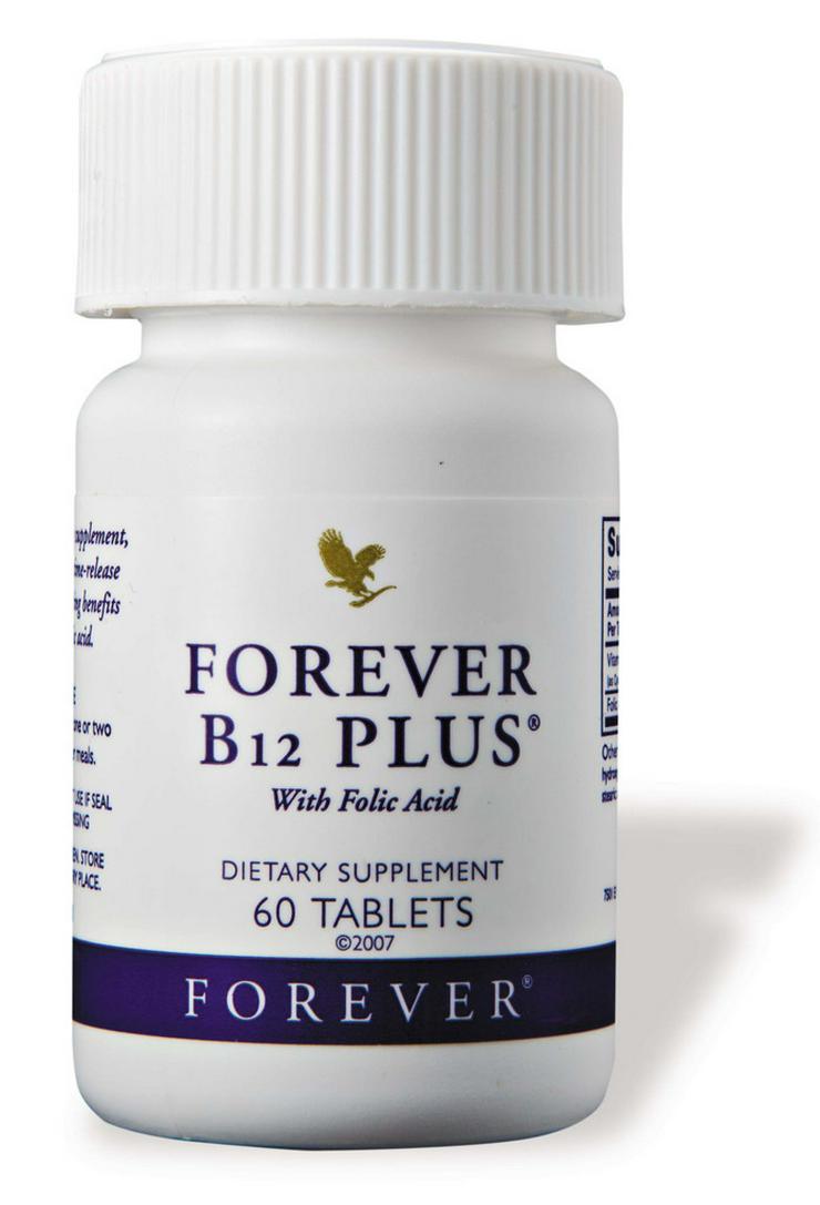 Bild 3: 5für4 - FOREVER B12 Plus - Vitamin-B Power-Mix