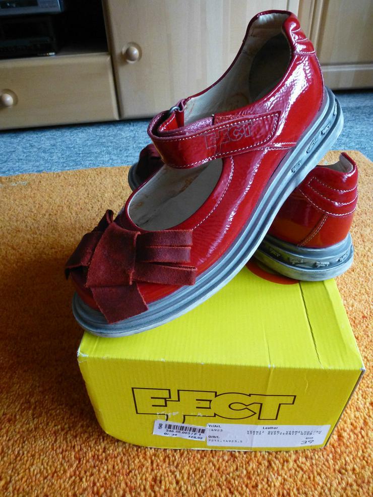 Damen Schuhe Gr.39 in Rot lack Leder P.129,95#0 - Größe 39 - Bild 1