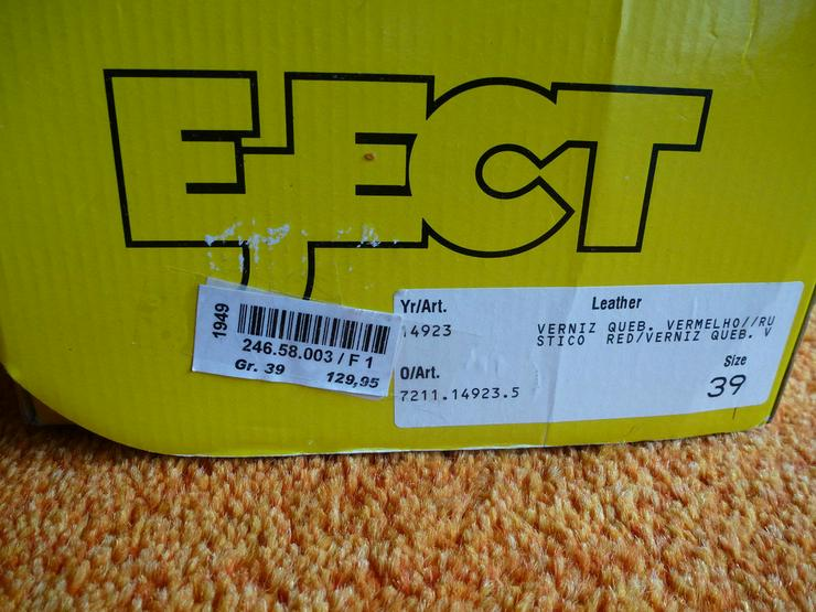 Bild 2: Damen Schuhe Gr.39 in Rot lack Leder P.129,95#0