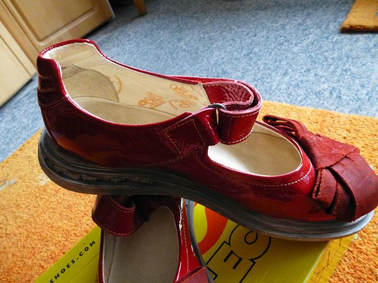 Bild 4: Damen Schuhe Gr.39 in Rot lack Leder P.129,95#0