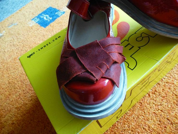 Bild 5: Damen Schuhe Gr.39 in Rot lack Leder P.129,95#0