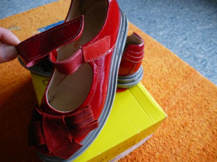 Bild 6: Damen Schuhe Gr.39 in Rot lack Leder P.129,95#0