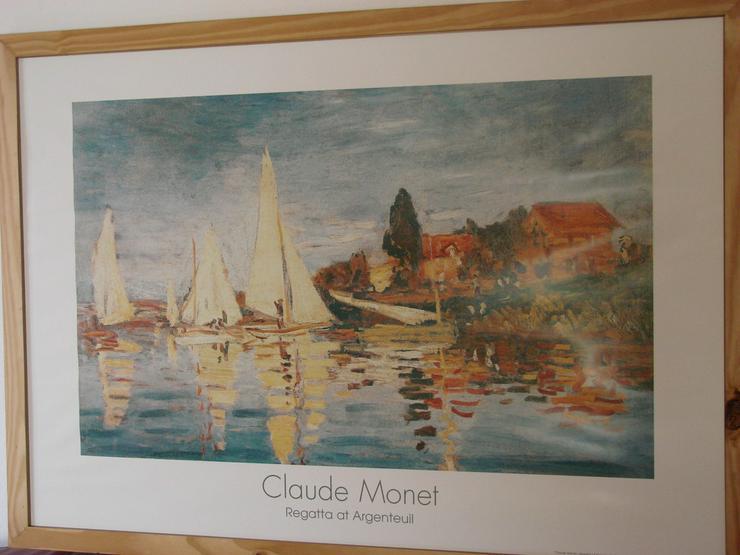 Claude Monet Regatta at Argenteuil (1872) - Poster, Drucke & Fotos - Bild 1