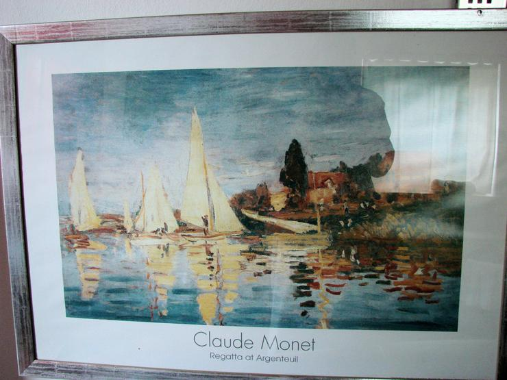 Bild 2: Claude Monet Regatta at Argenteuil (1872)