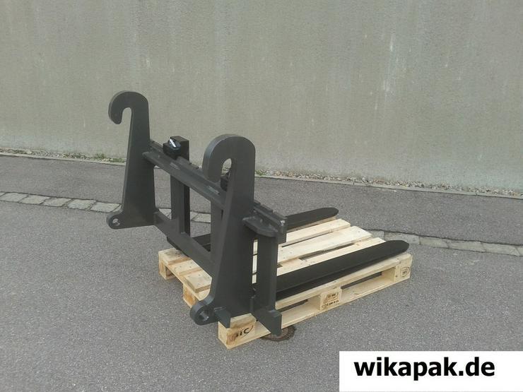 Bild 4: Gabelzinkenträger Radlader Frontlader Traktor