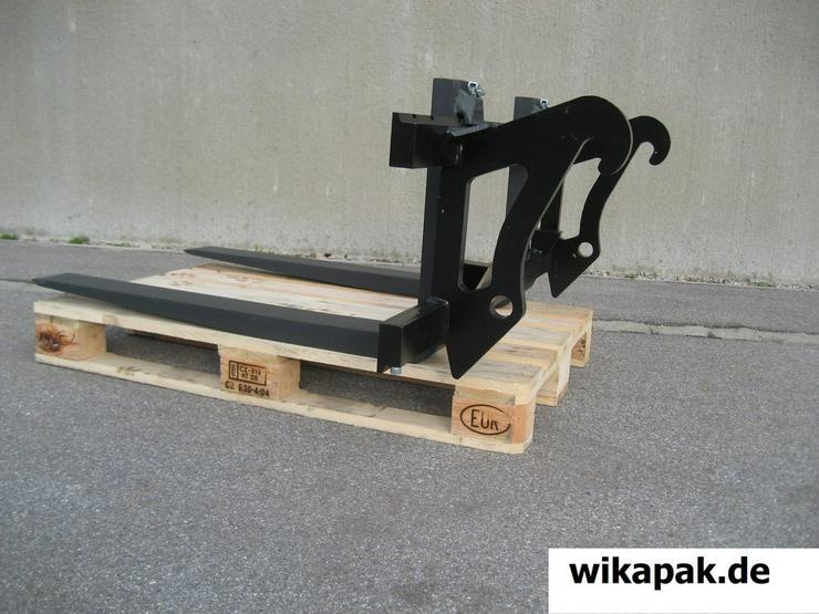 Bild 6: Gabelzinkenträger Radlader Frontlader Traktor