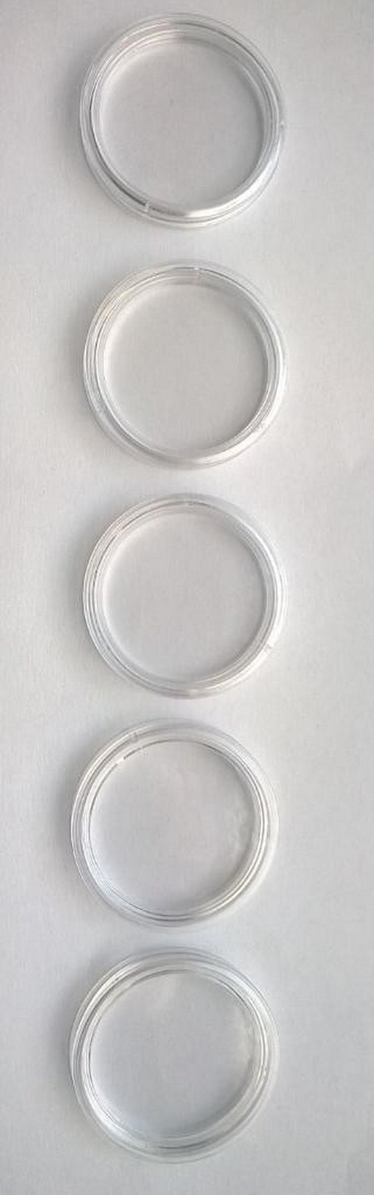 Bild 3: 10 Münzkapseln 27 mm, für 5 Euro Münzen