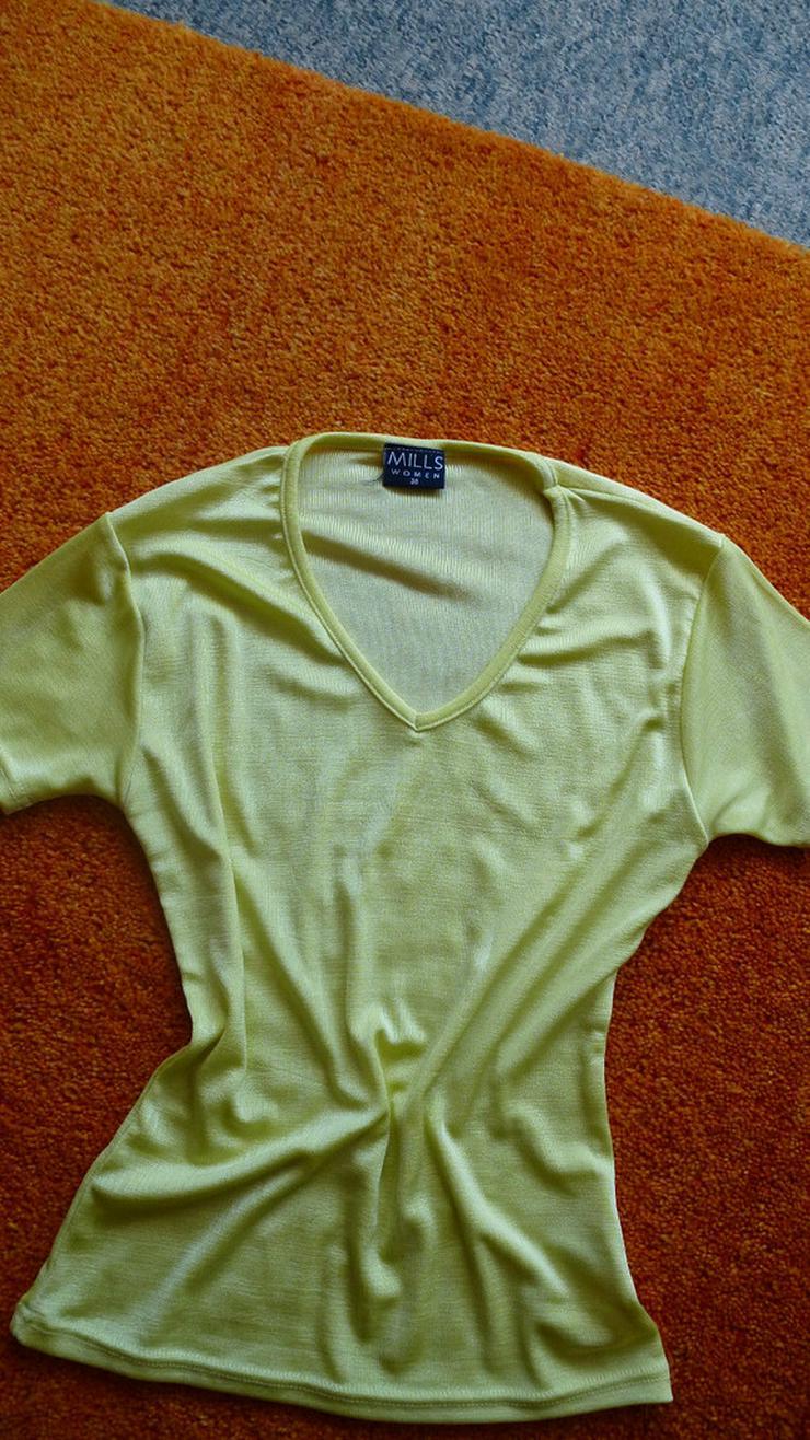 Damen T-Shirt Gr.38 in Gelb NW
