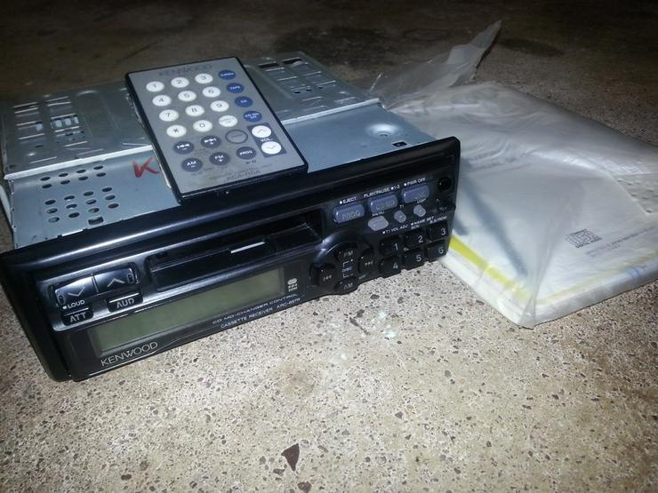 Kenwood Radio KRC 656R mit Wechslersteuerung