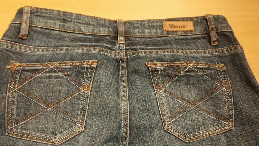 Bild 5: Damen Jeans Hose GLAMOUR Gr. 38 in Blau