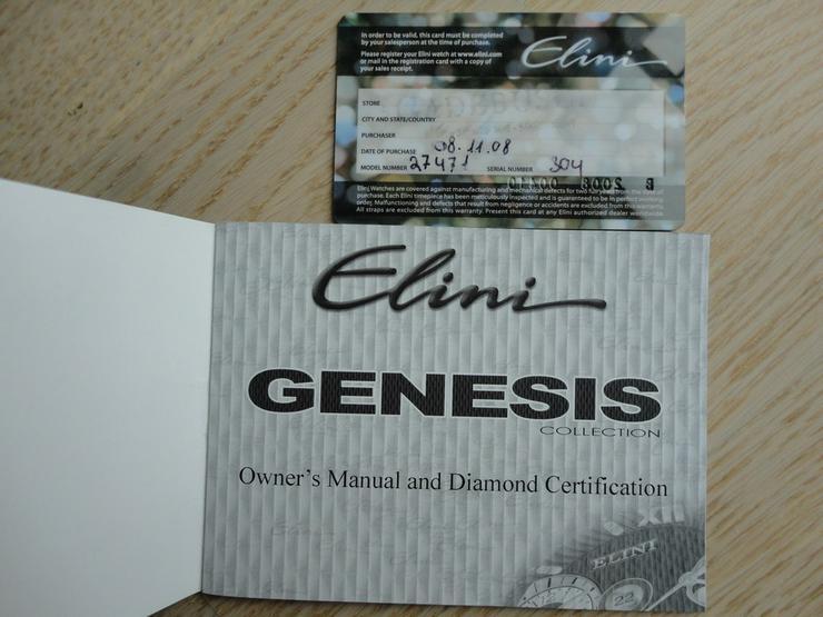Bild 2: Damenarmbanduhr ELINI Genesis
