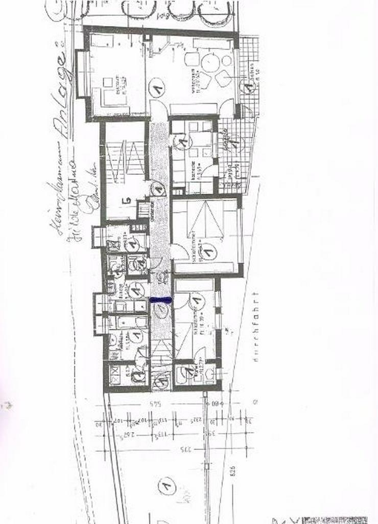Bild 17: 172qm große Wohneinheit - Aufteilung in 2 Wohnung und 1 Appartment.