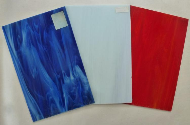 Farbglasscheiben für kreative Glasgestalter
