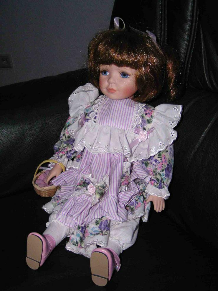 Bild 5: 5 Porzellan Puppen aus Omas Sammlung 29-45 cm