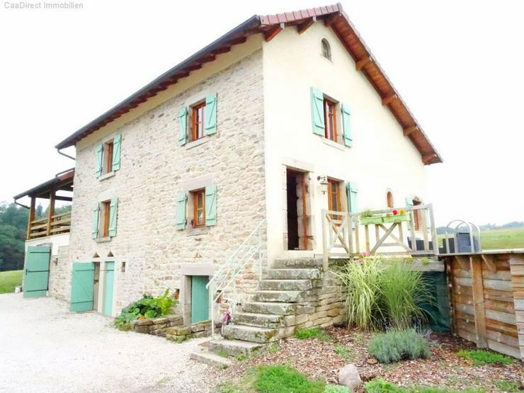 Bauernhaus mit 4 Hektar Umschwung u. Teich - 95 km von Basel