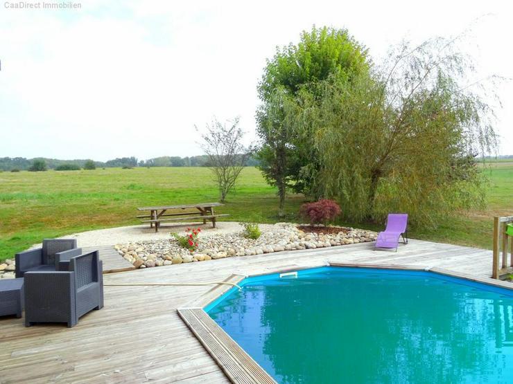 Bild 4: Bauernhaus mit 4 Hektar Umschwung u. Teich - 95 km von Basel