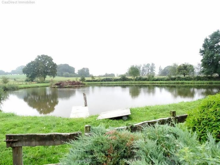 Bild 2: Bauernhaus mit 4 Hektar Umschwung u. Teich - 95 km von Basel