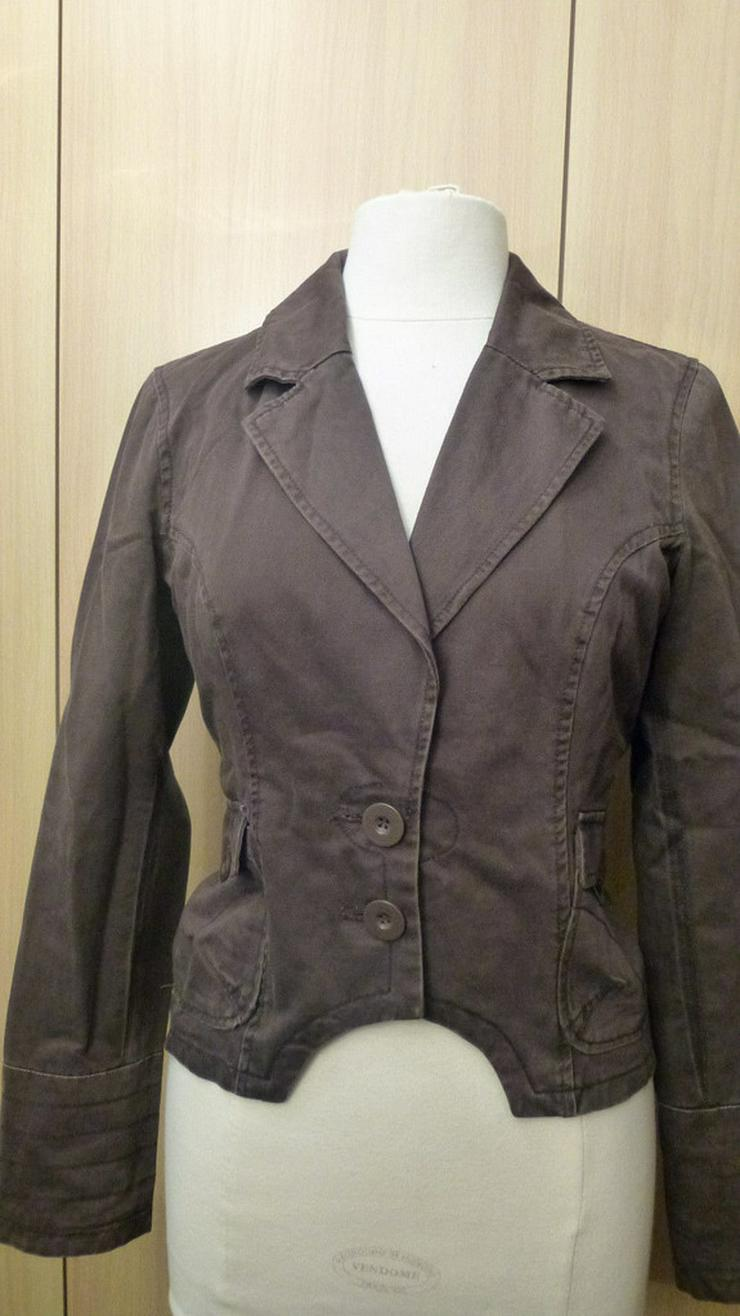 Damen Jacke Blazer Gr. 38 in Braun