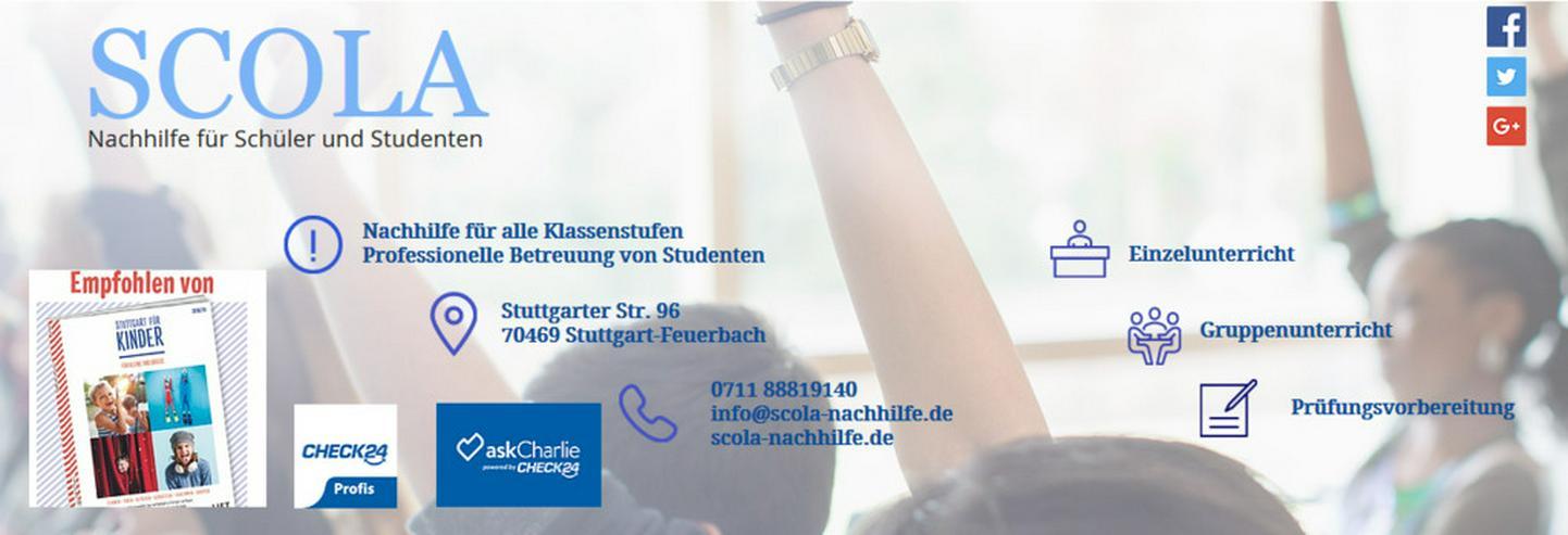 Bild 2: Professionelle Nachhilfe in Stuttgart