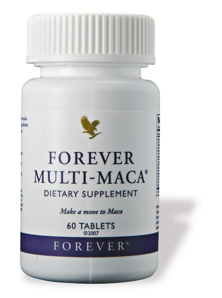 FOREVER Multi-Maca® Kraft- u Energiespender - Nahrungsergänzungsmittel - Bild 1