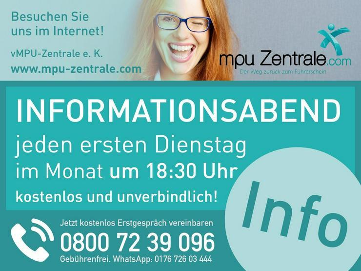 MPU Informationsabend