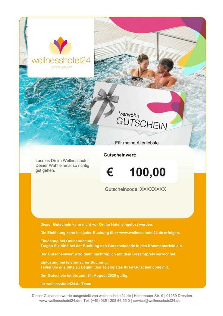 Wellnessgutschein für wellnesshotel24.de