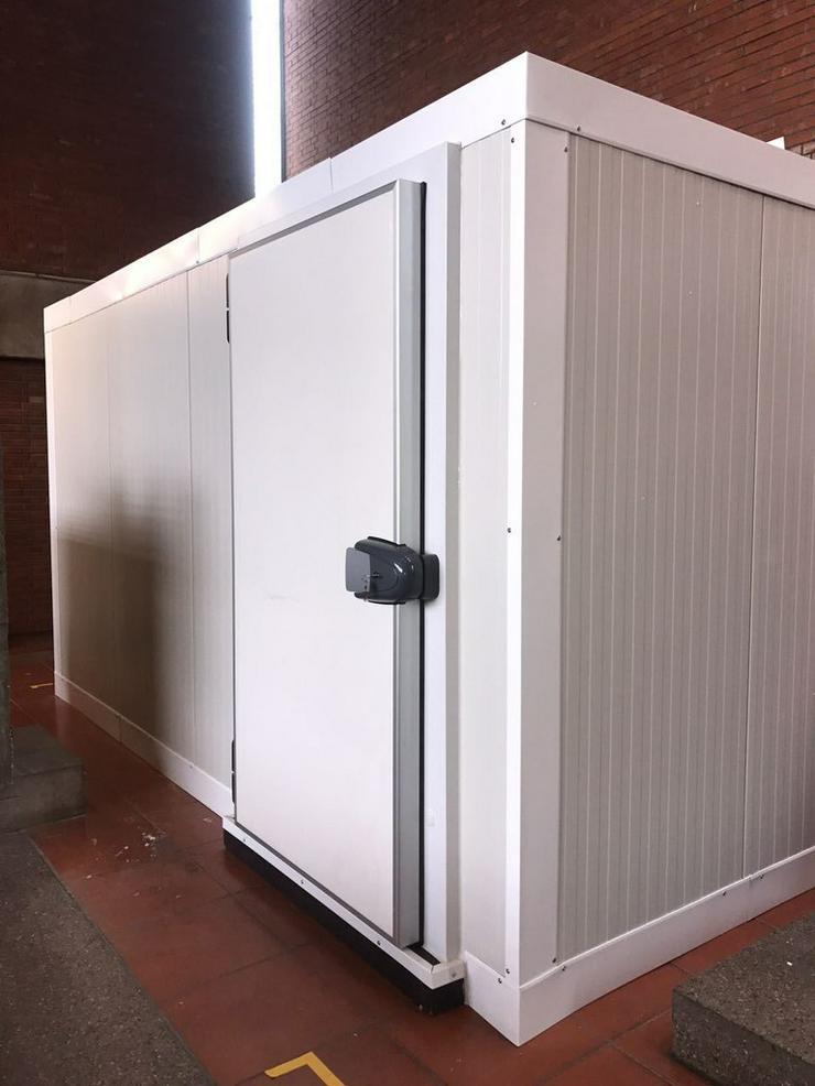 Bild 3: Kühlzelle 1,50m x 1,50m x 2,15m