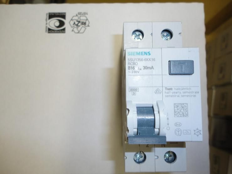 Sicherungsautomaten, Fehlerstromschalter