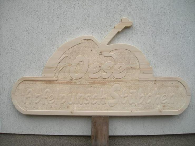 Bild 2: Holzschilder,Firmenschilder,Hinweisschilder