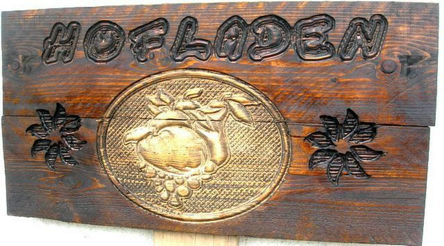 Bild 3: Holzschilder,Firmenschilder,Hinweisschilder