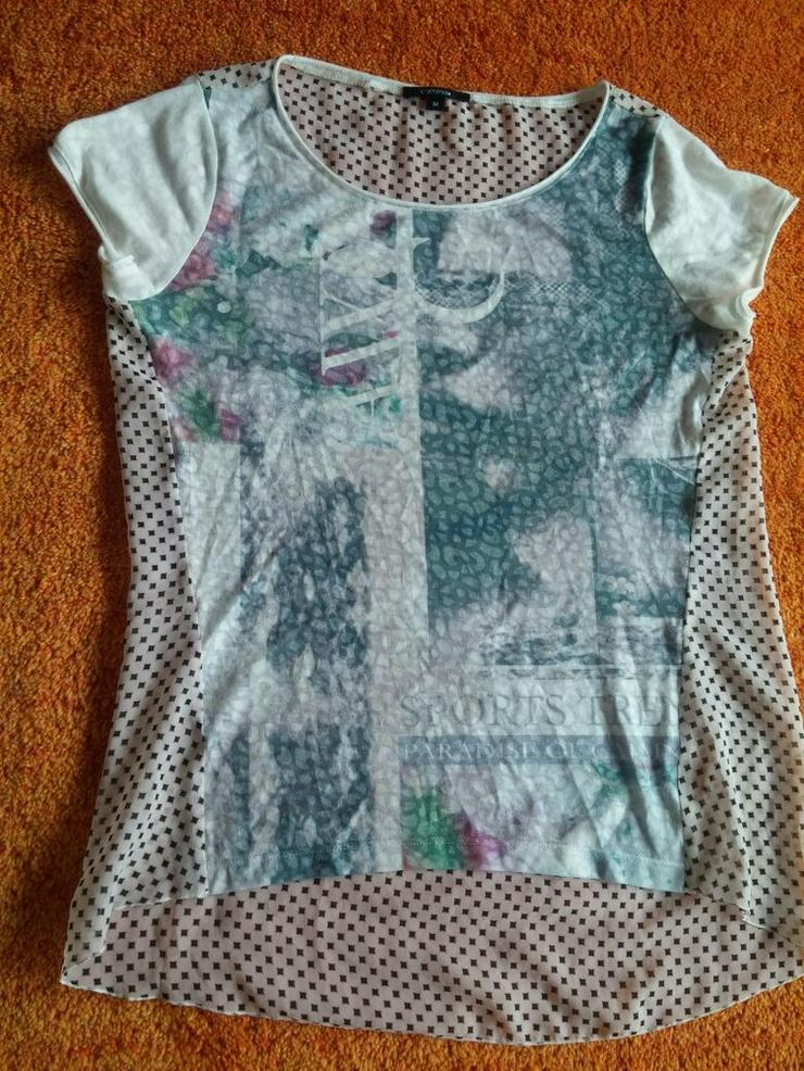 Damen Tunika Shirt Gr. 38 von comma