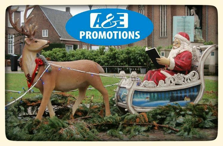Bild 3: weihnachts deko verleih schlitten rentieren usw
