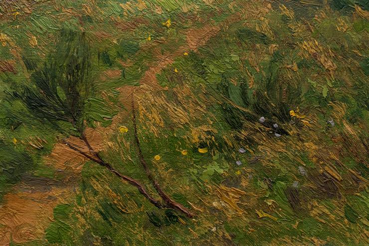 Bild 6: Gemälde WILHELM FRITZEL (1870), Ziegen am Rhein